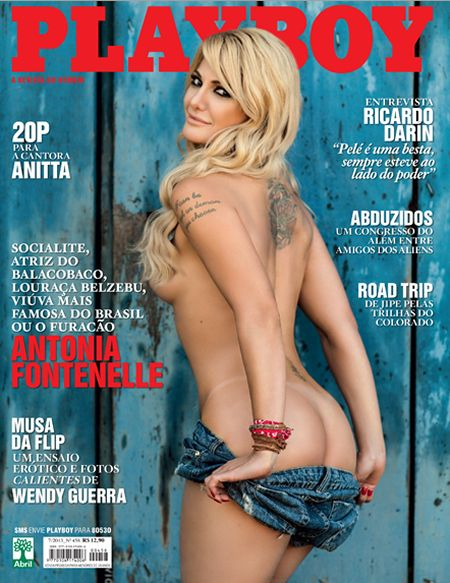 Download Revista Playboy: Antonia Fontenelle Julho 2013