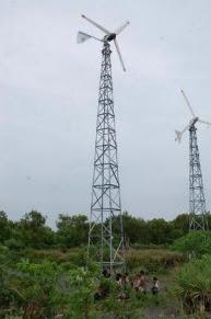 kincir angin pantai selatan Bantul