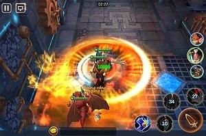 Tải game Chiến Thần Dota android, game bom tấn 2016