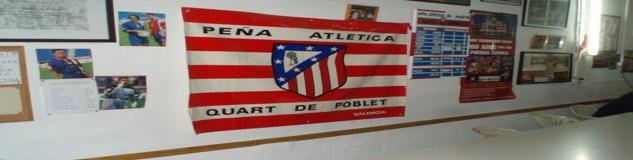 Peña Atlético De Madrid Quart De Poblet - Valencia