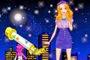 Barbie Gece Yıldızı Oyunu