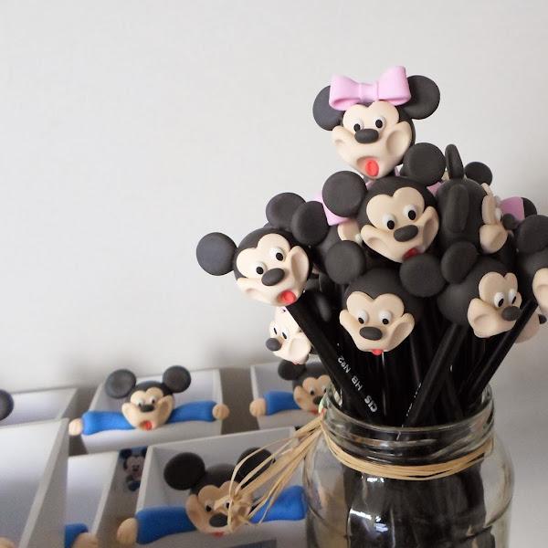 Lápis do Mickey e da Minie