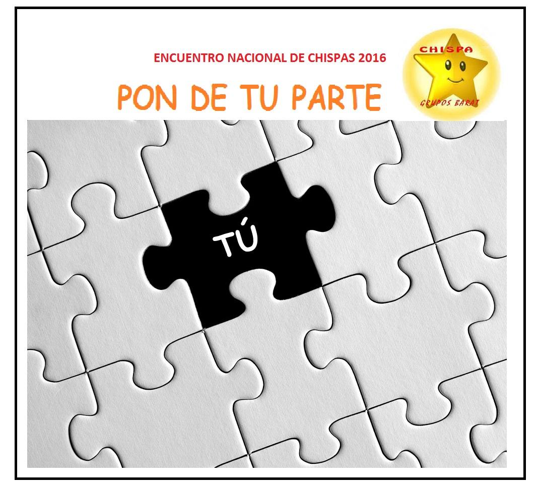 """Encuentro """"Chispa"""" de los Grupos Barat los días 8,9 y 10 de abril..."""