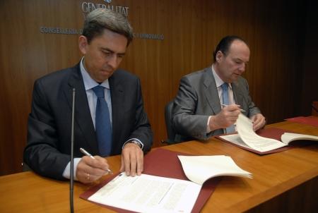 Rambla subraya el compromiso firme del Consell para poner recursos a disposición de las empresas para impulsar la recuperación económica