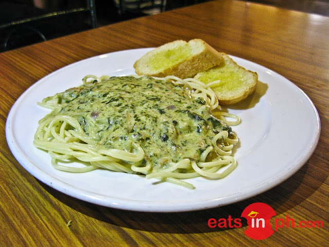 Pasta Pinangat from Small Talk Cafe in Legazpi City, Albay