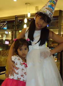 Me and my li'l sister