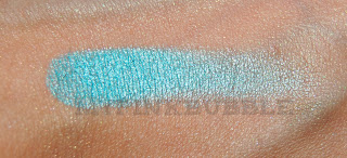 Sombra MUA shade número 8 pearl swatch
