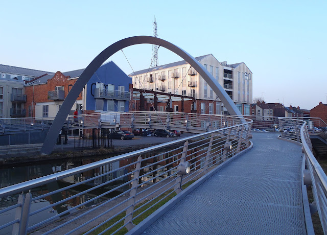 The bridge to Electric Wharf, Coventry Canal