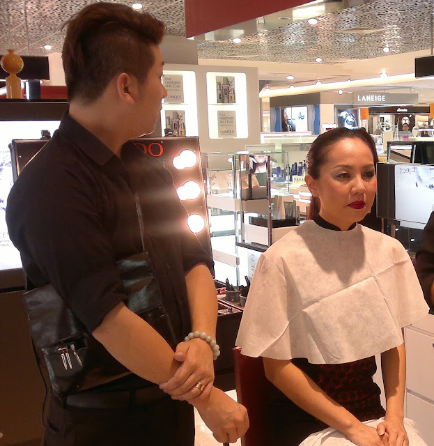 Lacuqer Rouge, Shiseiso Beauty Party, Metro Paragon Singapore