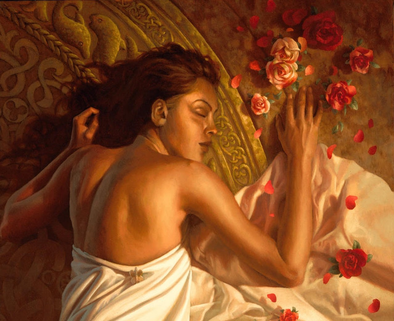 Christophe Vacher The Long Sleep detail