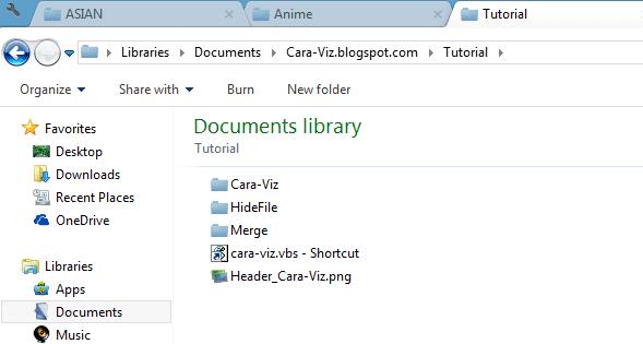 Cara Menambahkan Tab dan Bookmark Pada Windows Explorer