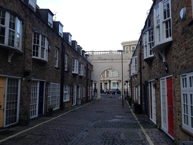 Comeragh Mews, Baron's Court, London W14