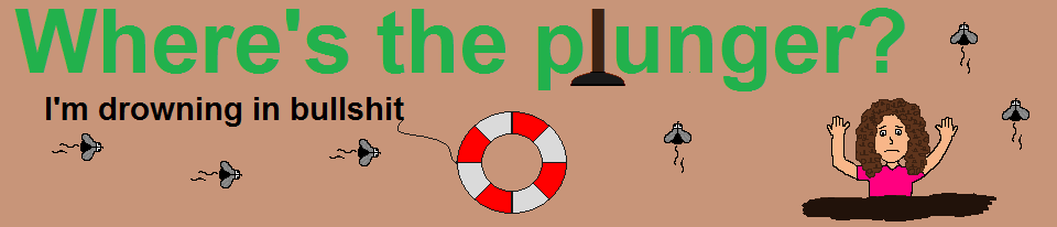 Where's the plunger?