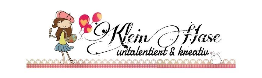 """Klein-Hase """"untalentiert & kreativ"""""""