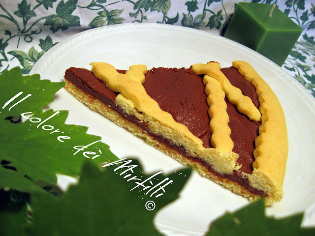 crostata alla crema nocciole, crostata alla nutella, crostata al cioccolato, crostata, dolce nutella, dolce, cioccolato
