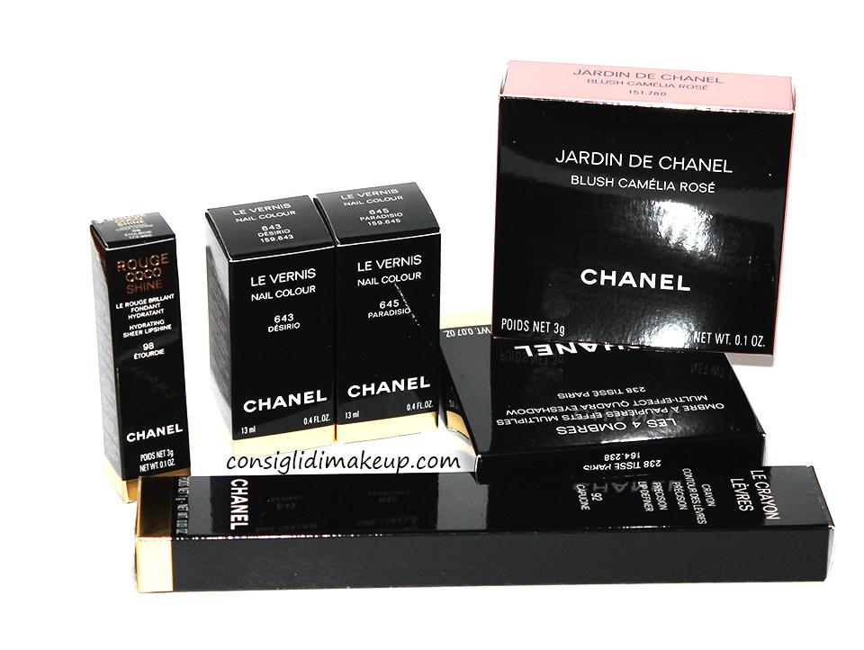 Review: Collezione Rêverie Parisienne - Chanel [Selezione Prodotti]