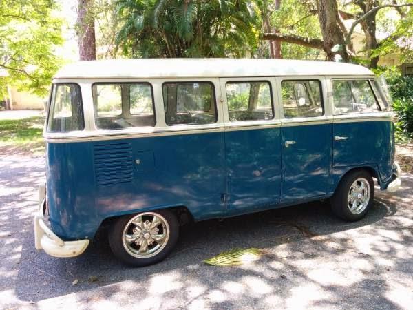 1966 vw bus deluxe split 15 windows vw bus wagon On 15 window bus for sale