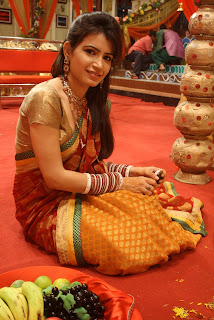 Priya Ahuja on the sets of Endemol's Chajje Chajje Ka Pyaar on Sony Entertainment Television