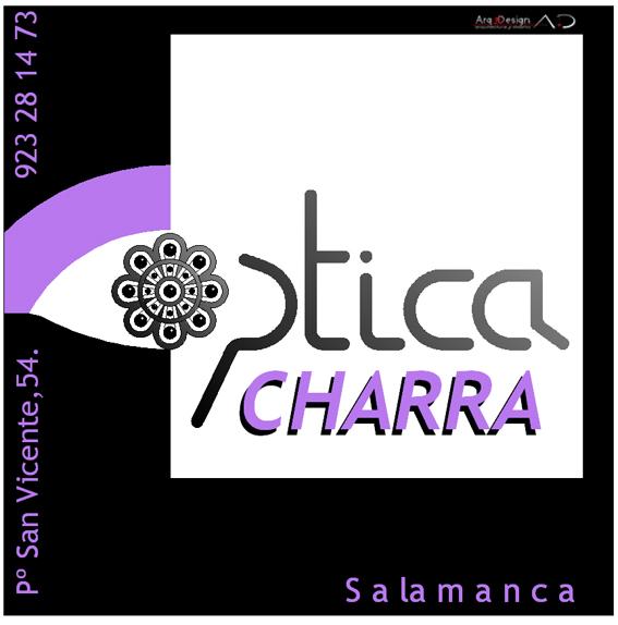 OPTICA CHARRA 3D Arq3design Publicidad Salamanca