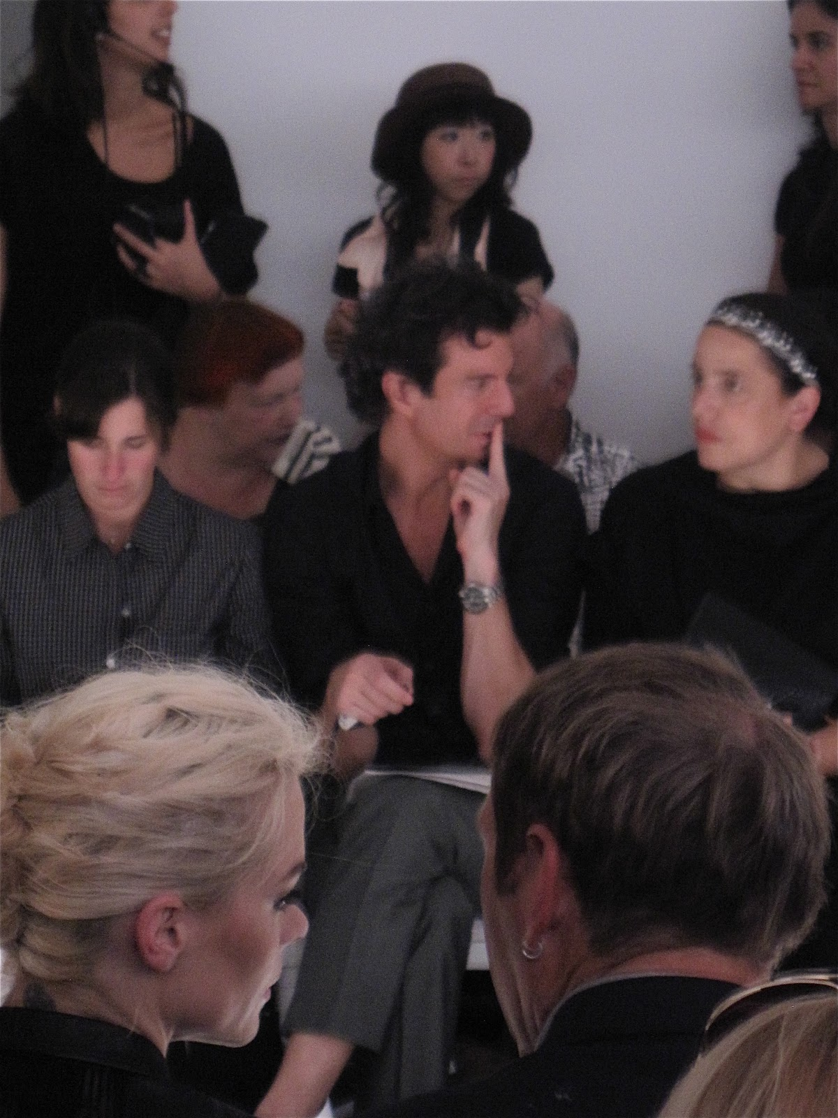 Jaime King and Adam Glassman at Jason Wu S/S 2011 NYFW