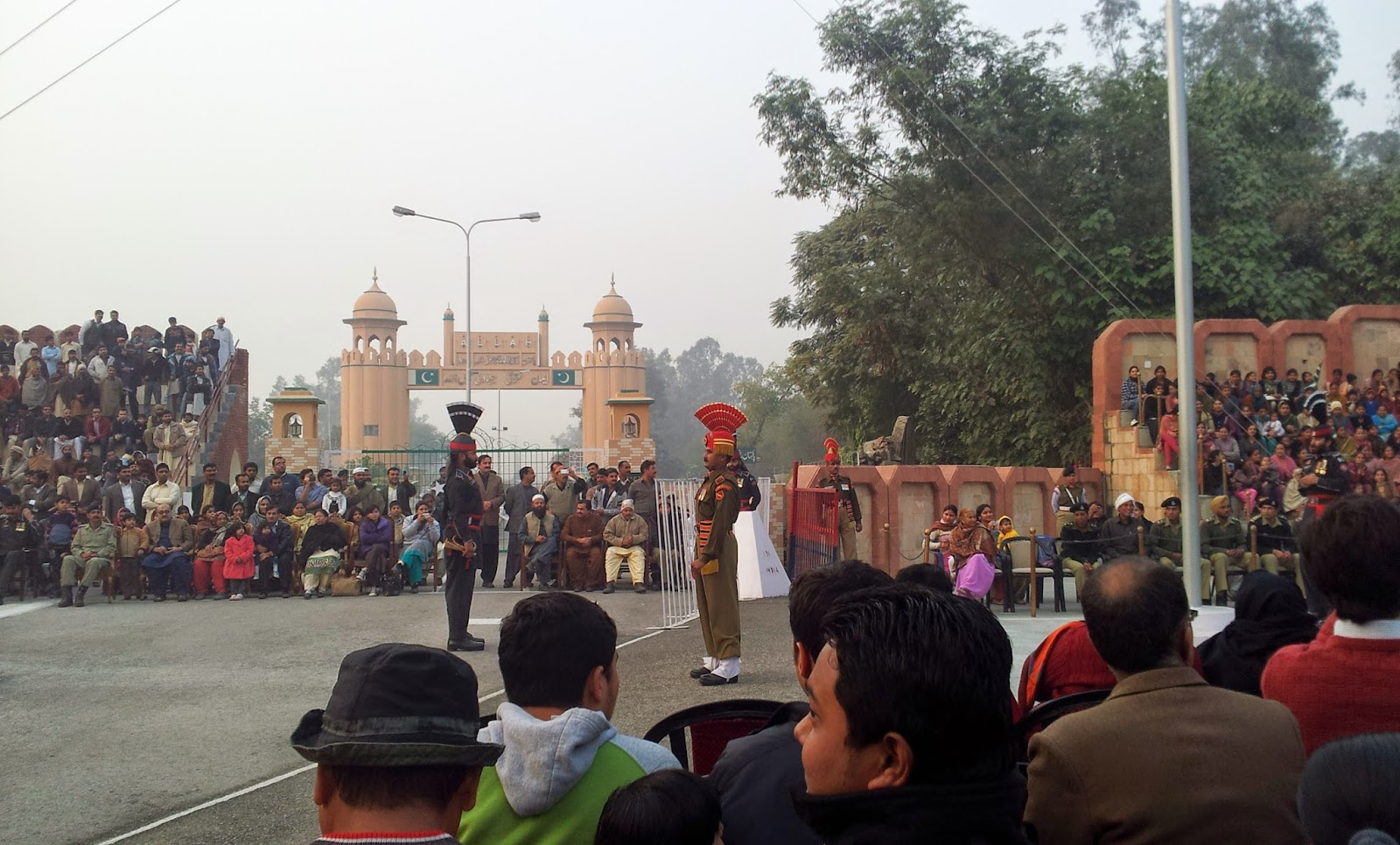 Punjab border, Hussainiwala border