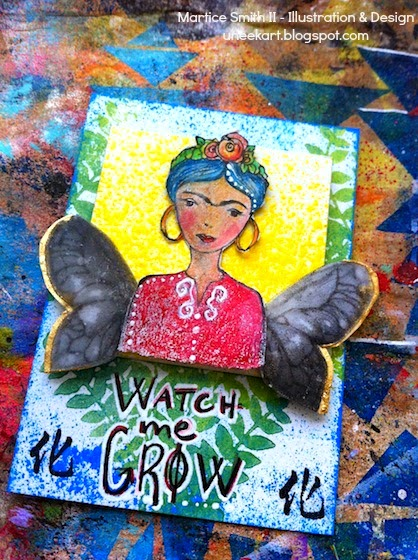 """Watch me GROW"" Dimensional ATC by Martice Smith II"