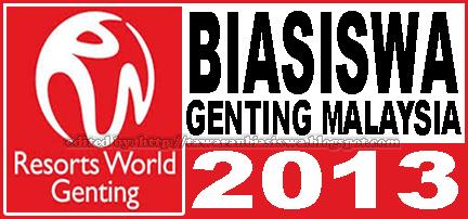 Tawaran Biasiswa Genting Malaysia | Genting Malaysia Scholarship