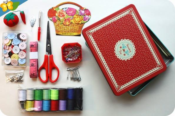 kit de couture inspiration rétro par dotcomgiftshop