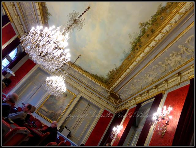 Salle du conseil hôtel du département Yvelines Préfecture Versailles