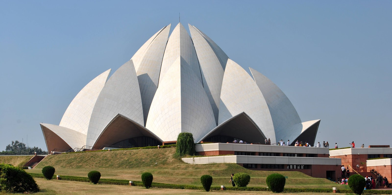 Through picture lotus temple tabernacle of unity for The lotus temple
