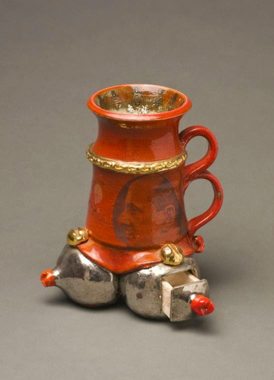 17-Papal-Vessel-Victor-Spinski-Clay-Sculptures-replicating-objects-from-Daily-Life-www-designstack-co