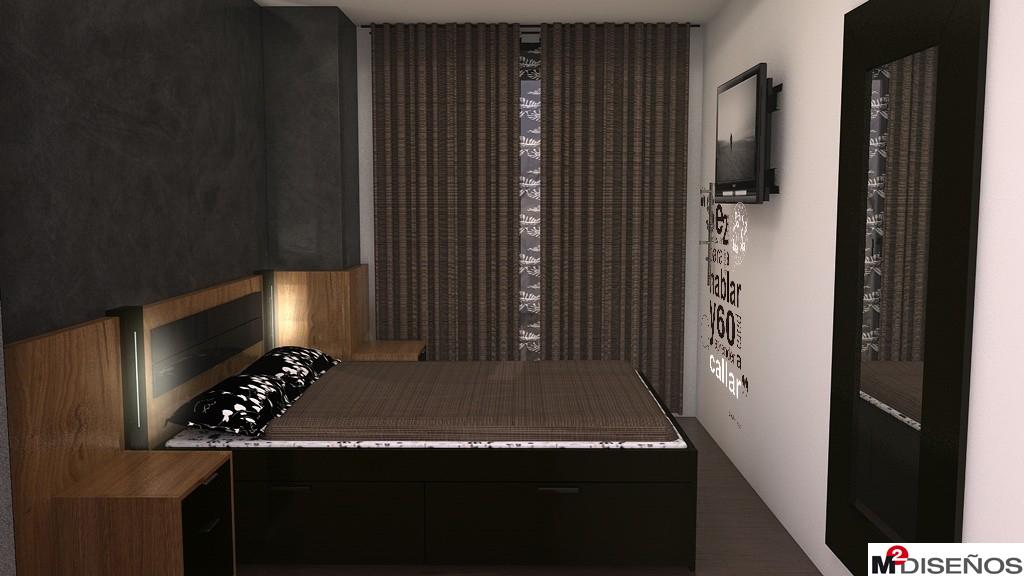 otro dormitorio de matrimonio de 9 88 metros cuadrados