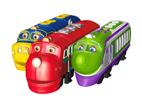 Chuggington Christmas ornament