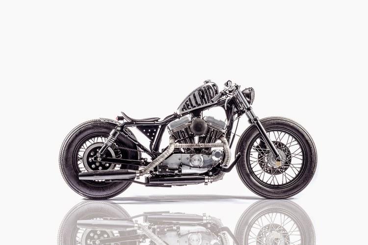 ϟ Hell Kustom ϟ: Harley Davidson Sportster 1998 By Young Guns Speed Shop