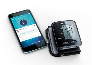 Philips wrist blood pressure monitor
