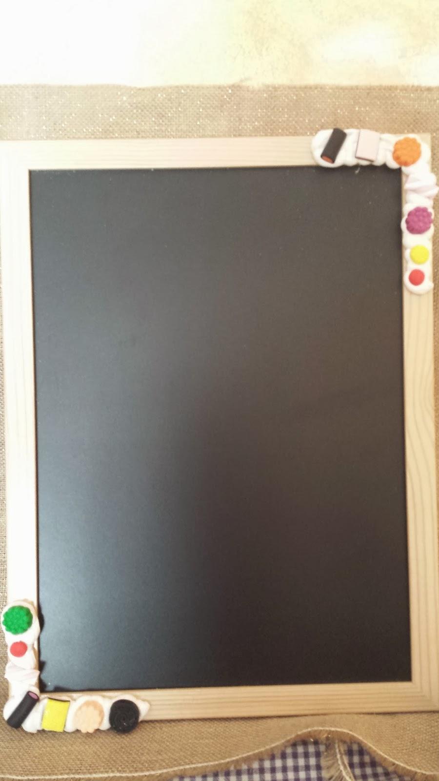 Le idee di Romina: Lavagnetta per i tuoi appunti in cucina....