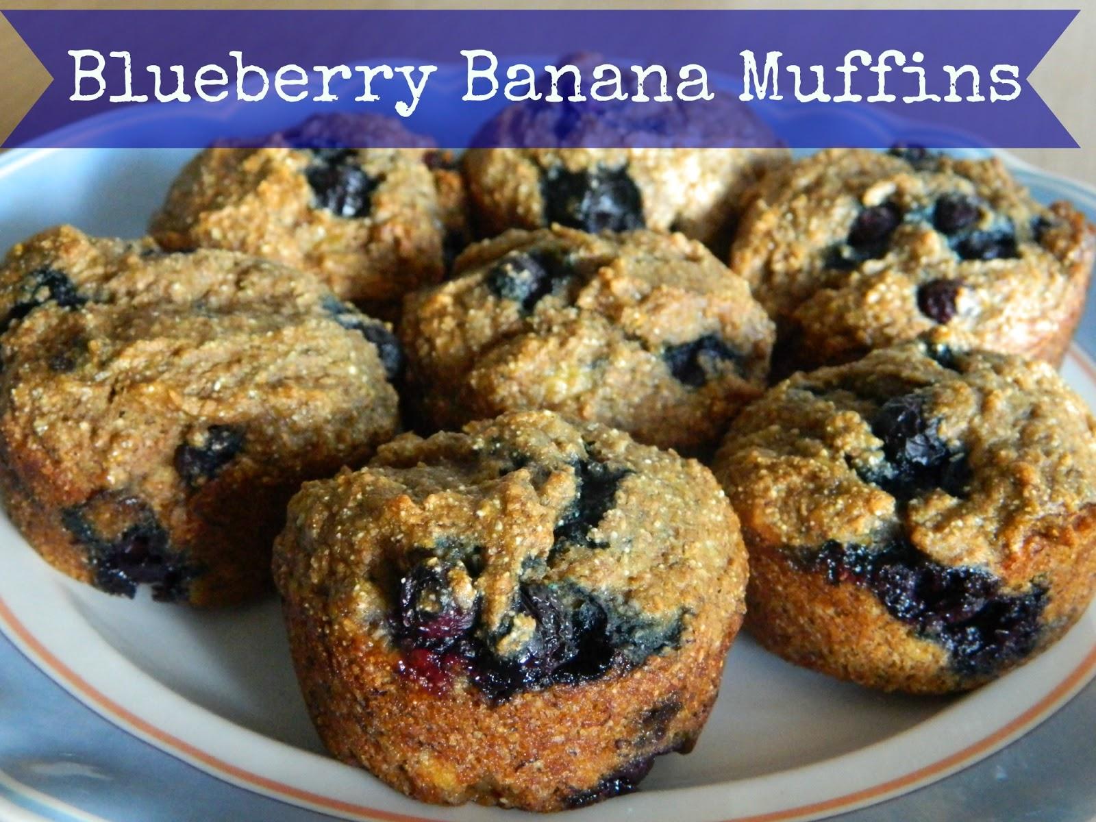 Healthy Banana-Blueberry Muffins Recipes — Dishmaps