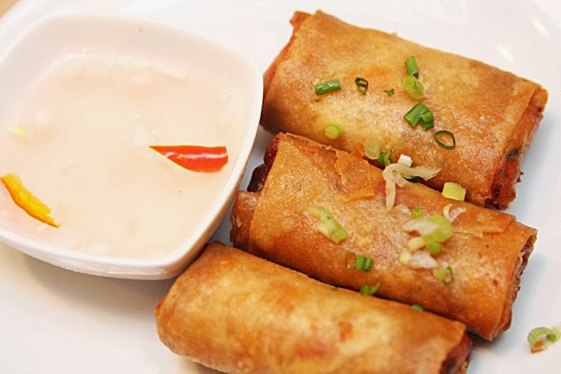 Deep Fried Chorizo and Kesong Puti Lumpia NamNam Filipino Comfort Food Greenbelt 2