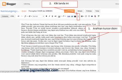 memotong artikel dengan readmore pada blogger versi terbaru