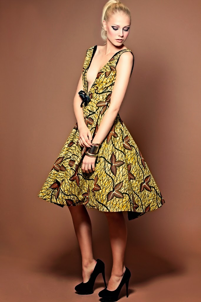 Tina Lobondi Fashion Designer