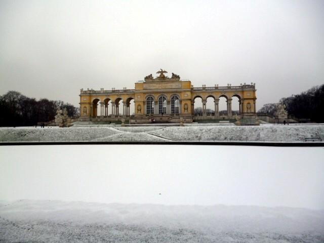 visita a schoenbrunn, gloriette, vienna