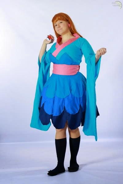 Furisode Girl Pokemon X Y Cosplay