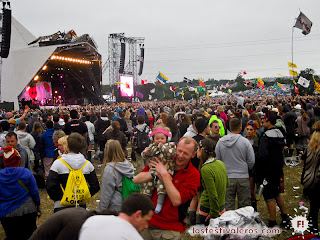 Glastonbury Festival. 2013. The Pyramid. Show.