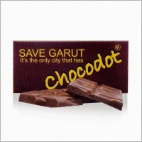 Words Chocolate - Save Garut