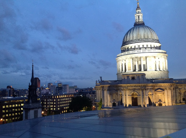 One New Change rooftop St Paul's