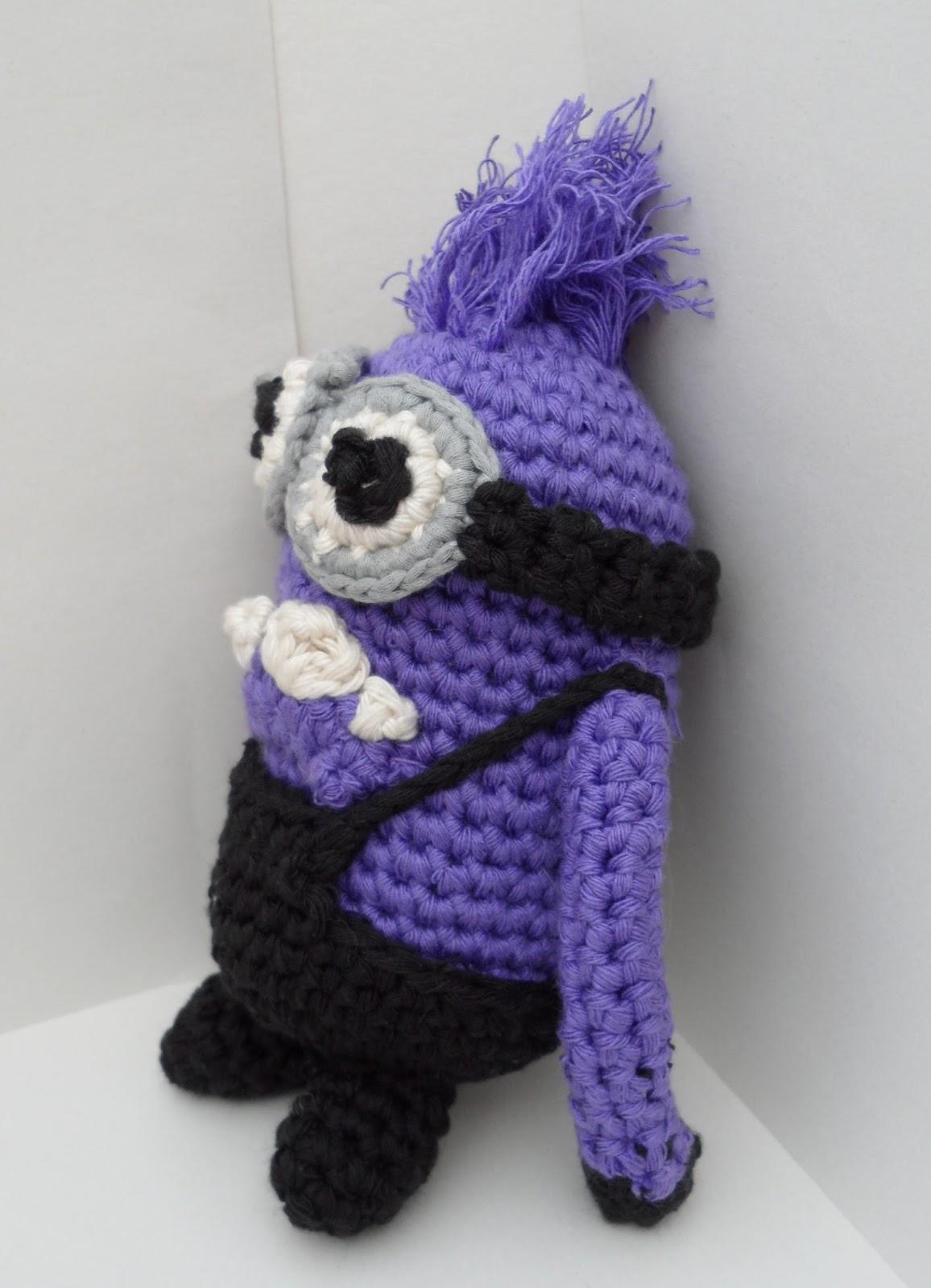 Amigurumi Minion Malo : AppleFace : Crocheteando Minions