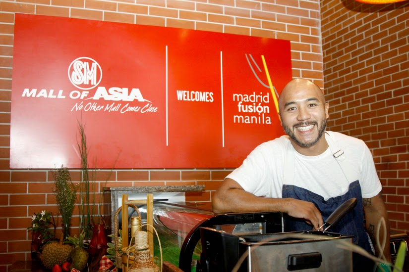 Chef JP Anglo of SARSA