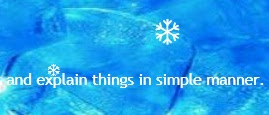 jQuery snowing effect animation sample