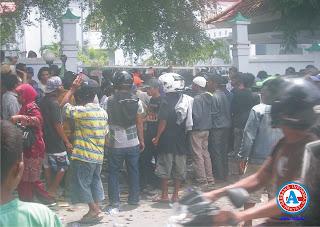 Ratusan Petani Hu'u,  Tuntut Pembebasan Lahan