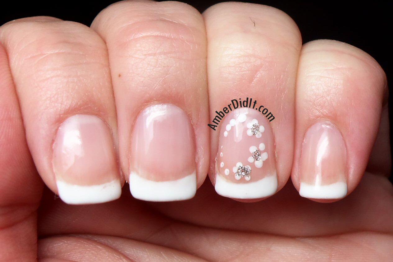 Amber did it!: Wedding Nails using OPI Gel Polish